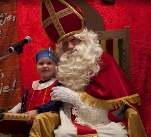 Sinterklaas op de foto gezet door Ton Smolders